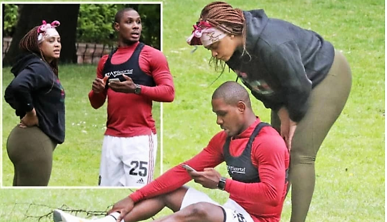 Odion ighalo spotted with ystery woman-bluebloodz.com