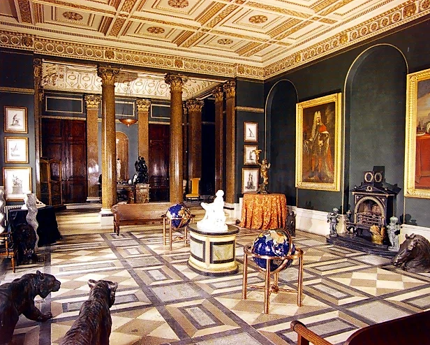 """Check Out The INTERIOR OF """"Sir James Dyson's """" MASSIVE COUNTRY PAD.{ see photos}"""