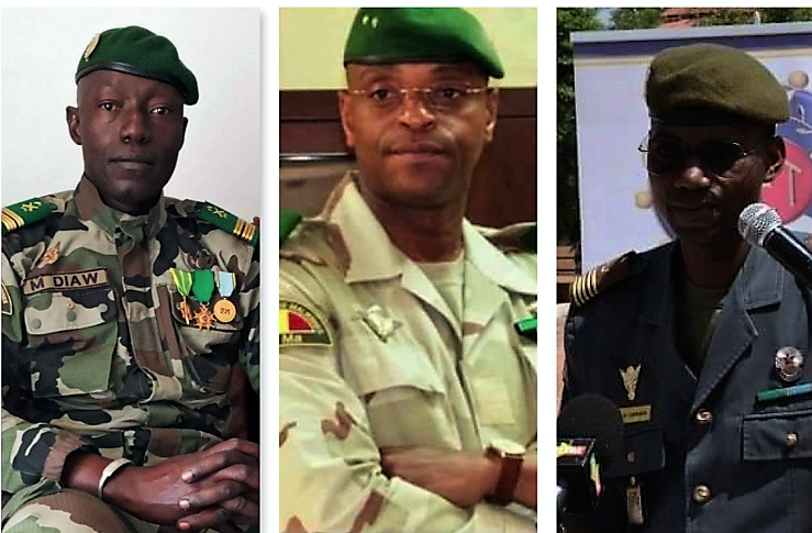 Mali Mutiny : FACES OF COUP LEADERS UNVEILED.