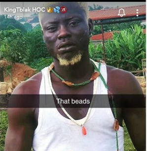 NIGERIAN PORNSTAR Reportedly ARRESTED FOR USING TRADITIONAL BEADS TO SHOOT PORN.