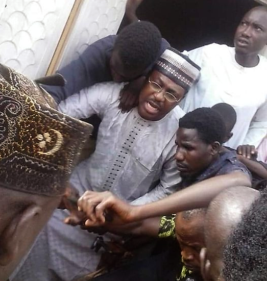 RAPE : Moment Ex-Convict Was Caught Raping 4 yr Old Girl Inside The Mosque. [ watch video]