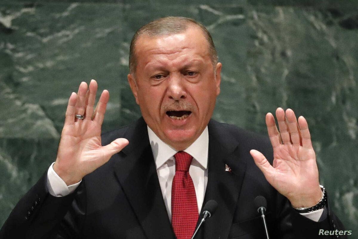 """DO NOT MESS WITH """" Turkey or Turkish People """" - Erdogan warns Macron."""