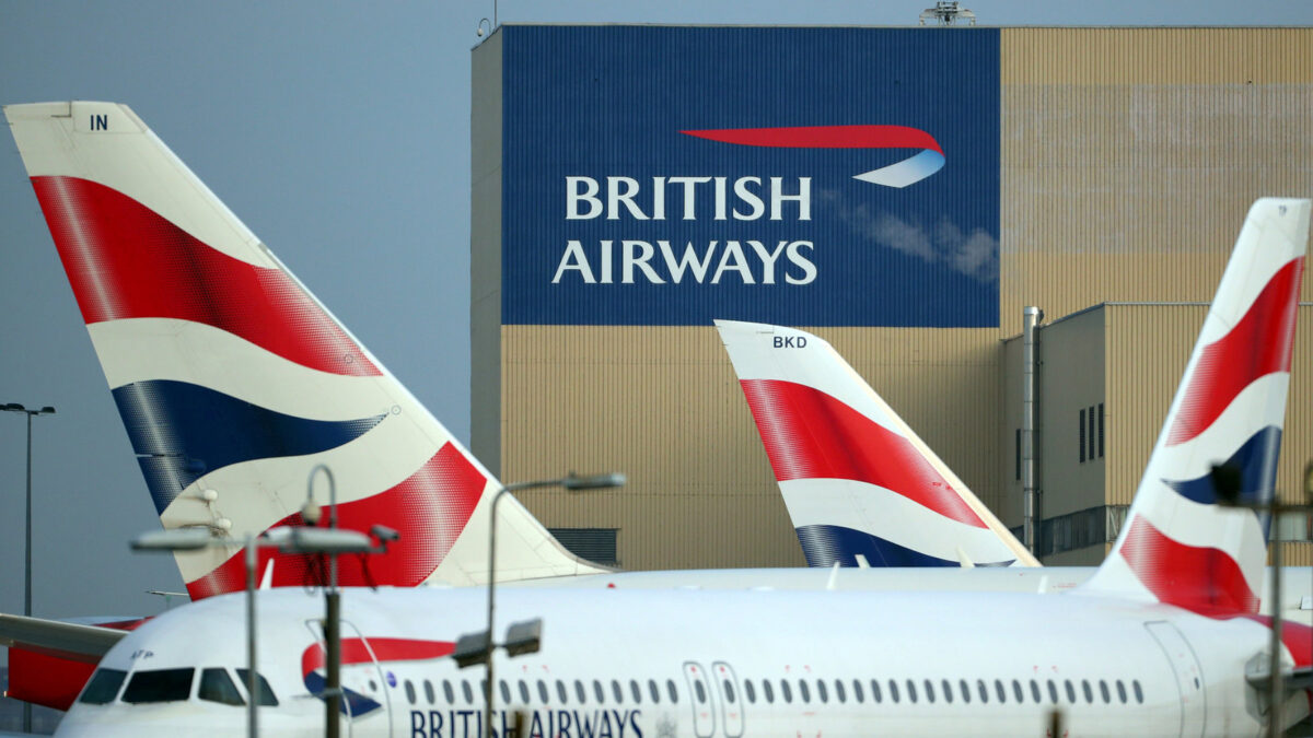 British Airways FINED £20m OVER DATA BREACH .