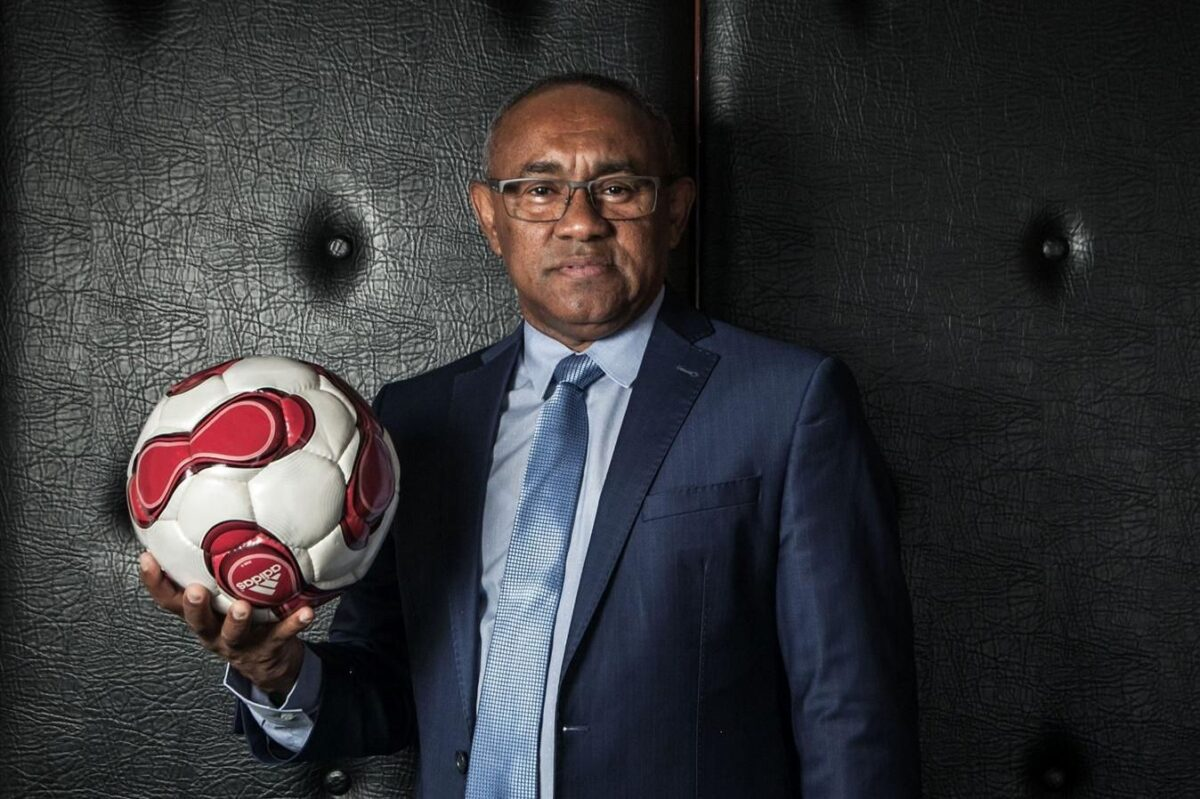"""Caf President """" Ahmad """"Submits SECOND TERM Re-Election BID."""