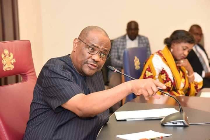 Gov. Wike IMPOSES 24 Hrs CURFEW ON Okoro-Nu-Odu FLYOVER AREA.